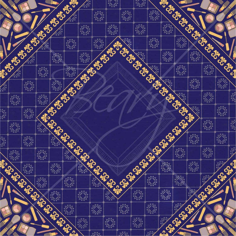 ผ้าพันคอ ลายสี่เหลี่ยม